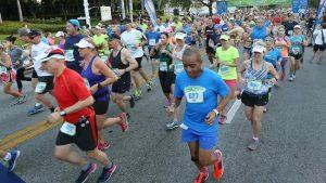 Calendário de corridas e maratonas em Orlando em 2016: corredores