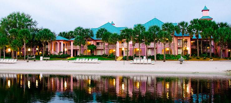 Descontos em hotéis na Disney Orlando em 2019: Hotel Disney's Caribbean Beach Resort