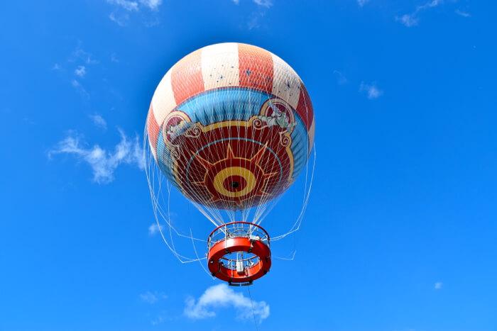 Passeio de balão no Disney Springs em Orlando 2