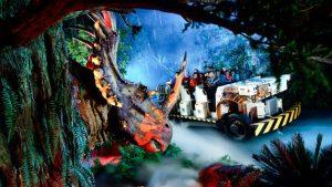 Quais brinquedos vale a pena fazer Fast Pass no Animal Kingdom: Dinosaur