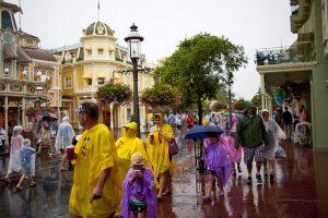 Chuva nos parques da Disney em Orlando: Disney com chuva