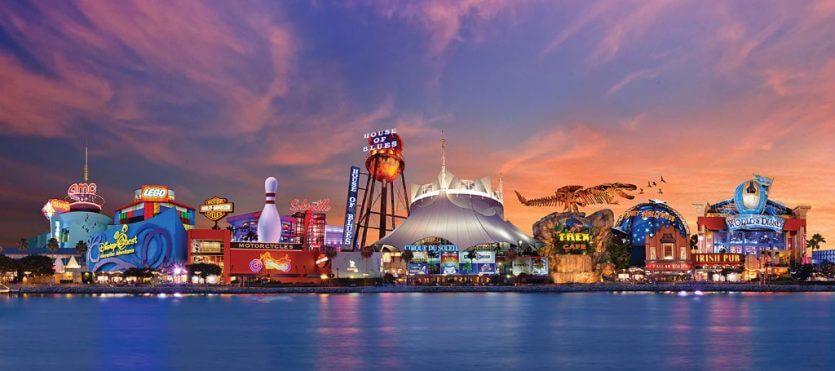 Como chegar a Disney Springs: Centro da Disney em Orlando