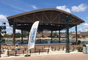 O que fazer em Disney Springs(atrações): palco de shows