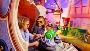 Quais brinquedos vale a pena fazer Fast Pass no Hollywood Studios: Toy Story Mania!
