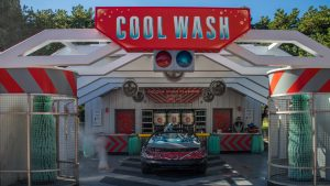 Restaurantes do parque Disney Epcot em Orlando: Test Track Cool Wash