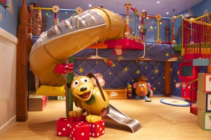 Motivos para fazer um cruzeiro da Disney: brinquedos para crianças