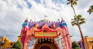 Restaurantes do parque Busch Gardens em Orlando: restaurante Dragon Fire Grill & Pub