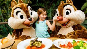 Restaurantes do parque Disney Epcot em Orlando: restaurante Garden Grill