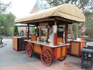 Restaurantes do parque Disney Epcot em Orlando: Popcorn in Canada
