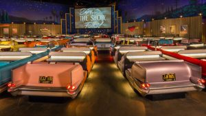 Restaurantes do parque Disney Hollywood Studios em Orlando: Sci-Fi Dine-In Theater Restaurant