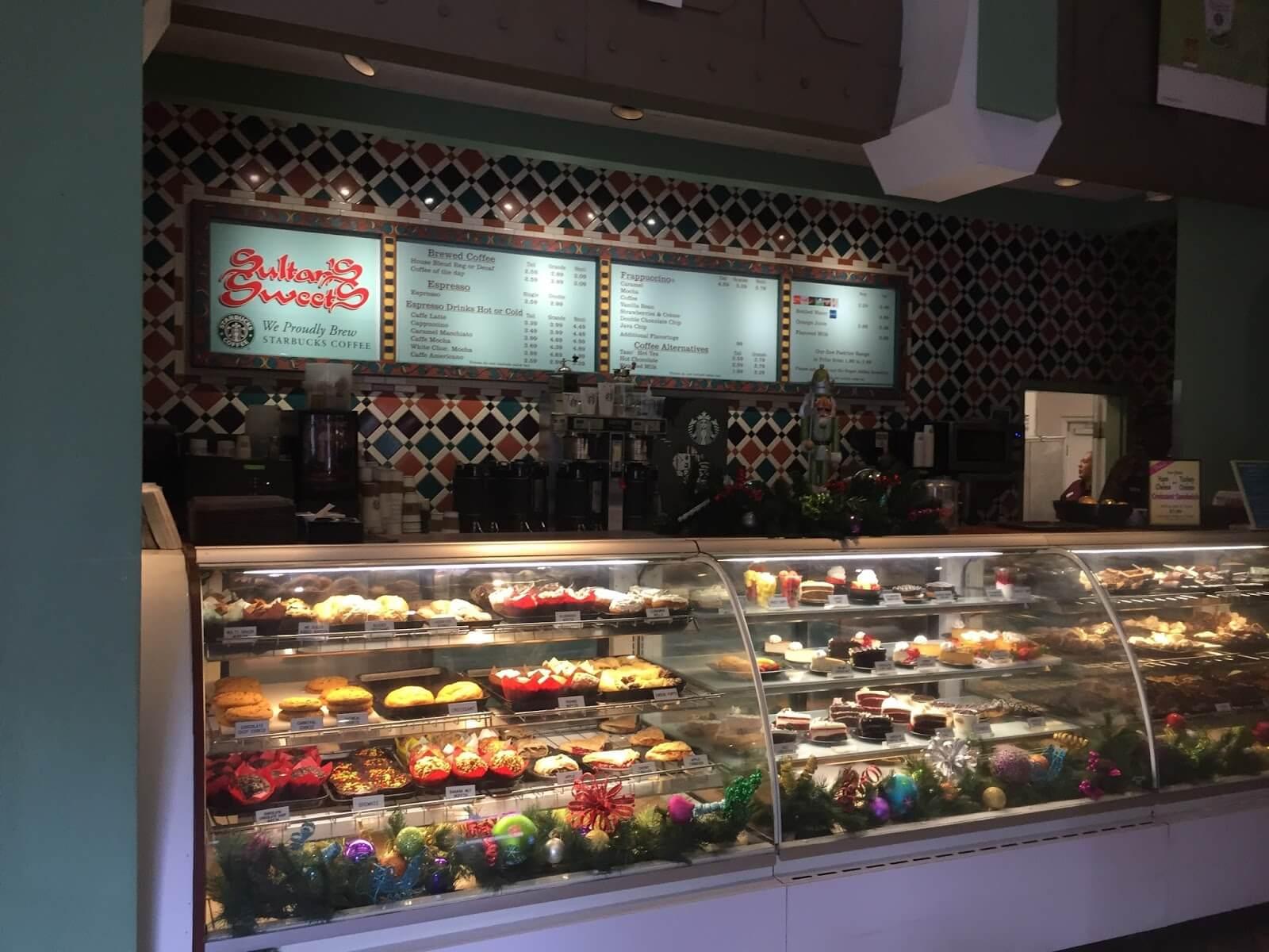 Restaurantes do parque Busch Gardens em Orlando: Sultan's Sweets