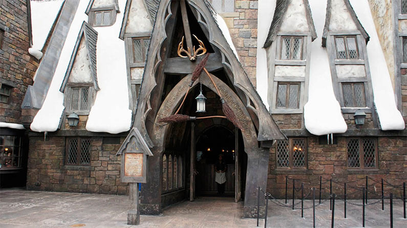 Restaurante 3 Vassouras do Harry Potter em Orlando: Three Broomsticks