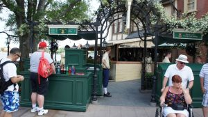 Restaurantes do parque Disney Epcot em Orlando: UK Beer Cart