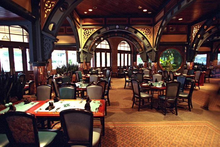 Restaurantes do parque Universal Studios em Orlando: restaurante Lombard's Seafood Grille