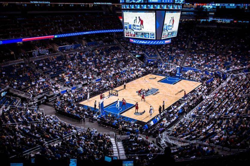 Onde comprar ingressos da NBA em Orlando: jogo de basquete Orlando Magic no Amway Center