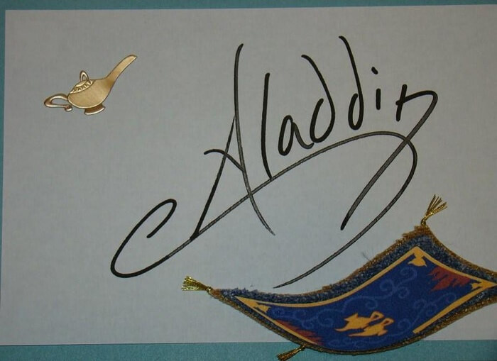 Itens colecionáveis da Disney em Orlando: autógrafos de personagens Disney