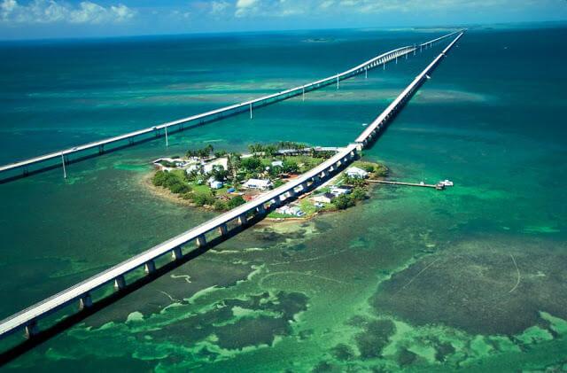 Viagem de carro de Orlando a Key West ou de Key West a Orlando