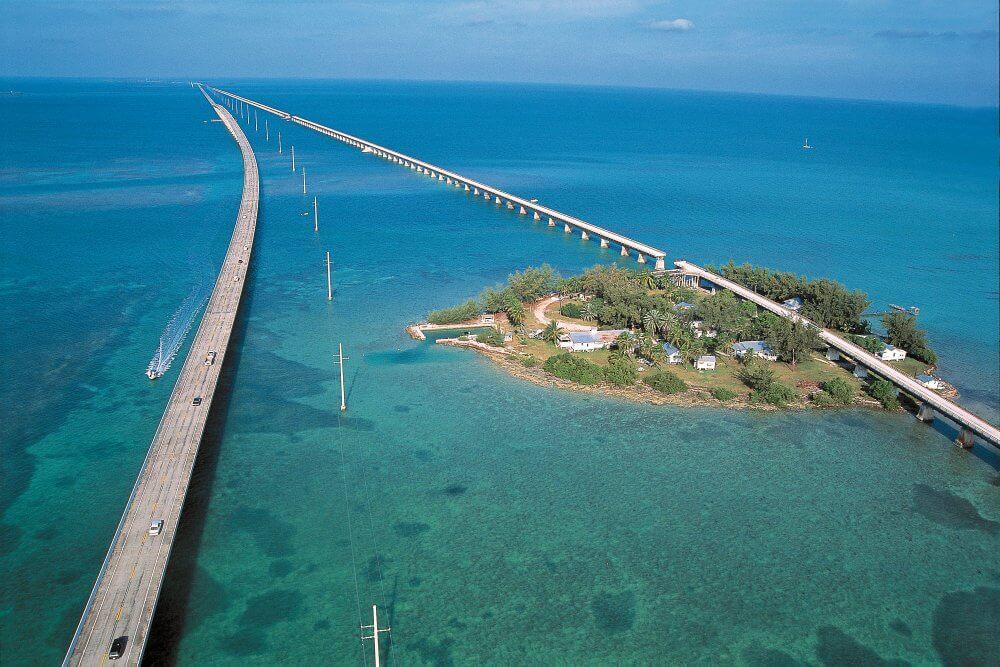 Viagem de carro de Miami a Key West ou de Key West a Miami