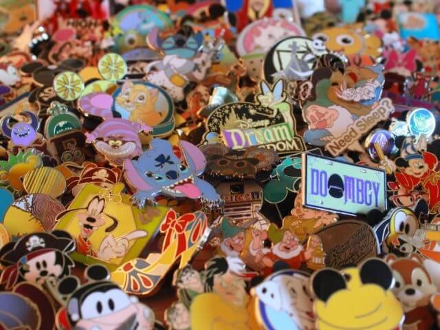 Itens colecionáveis da Disney em Orlando