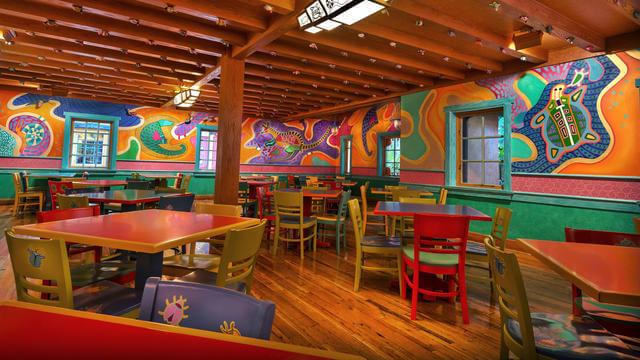 Restaurantes do parque Disney Animal Kingdom em Orlando: Pizzafari
