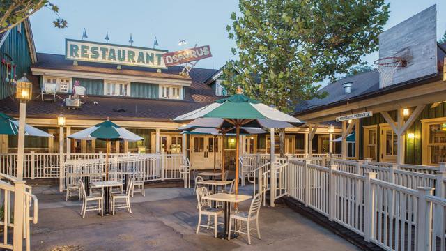 Restaurantes do parque Disney Animal Kingdom em Orlando: restaurante Restaurantosaurus