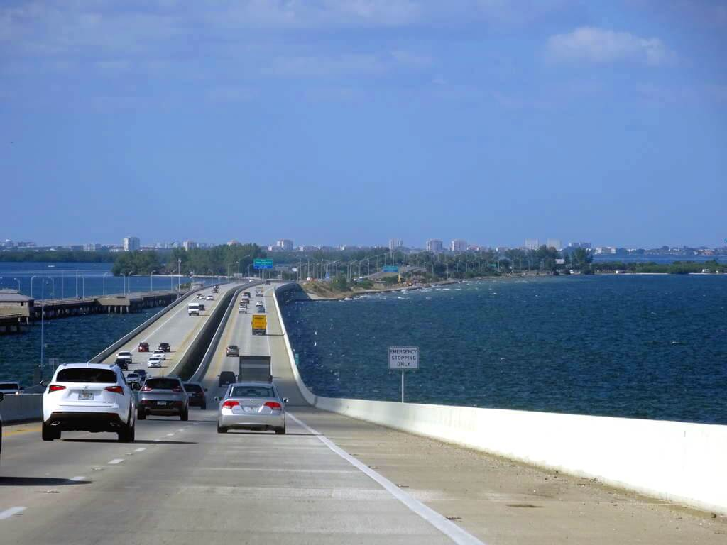 Viagem de carro de Miami à Tampa ou de Tampa à Miami 3