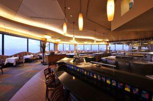 Restaurante California Grill em Orlando: interior do restaurante