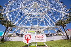 Roda Gigante Coca-Cola Orlando Eye no I-Drive 360