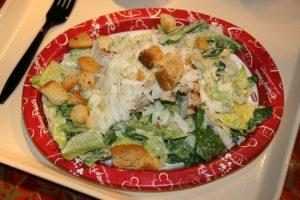 Onde comer comida saudável em Orlando: salada Disney
