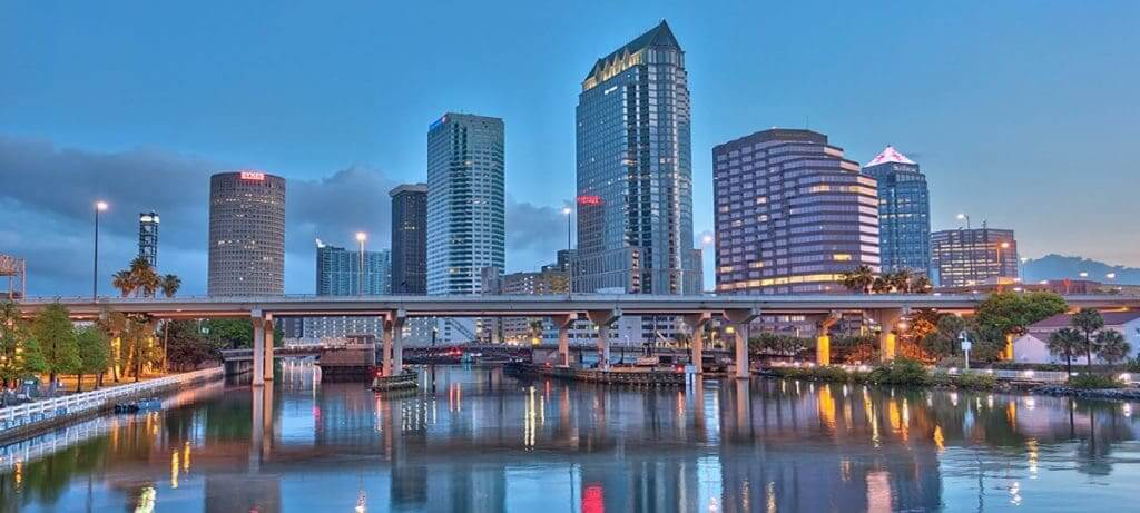 Como ir de Orlando a Tampa ou de Tampa a Orlando: Tampa