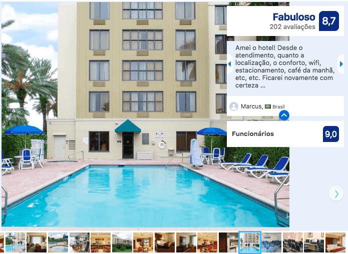 Hotéis bons e baratos em Miami: Hotel Comfort Suites Miami