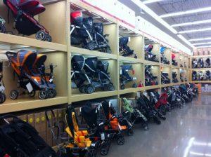 Onde comprar carrinhos de bebê em Orlando: lojas de departamento