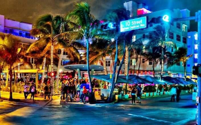 O que fazer à noite em Miami