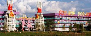 Hotel Pop Century da Disney em Orlando