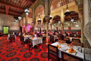 Pavilhão e área de Marrocos no Disney Epcot em Orlando: Restaurant Marrakesh