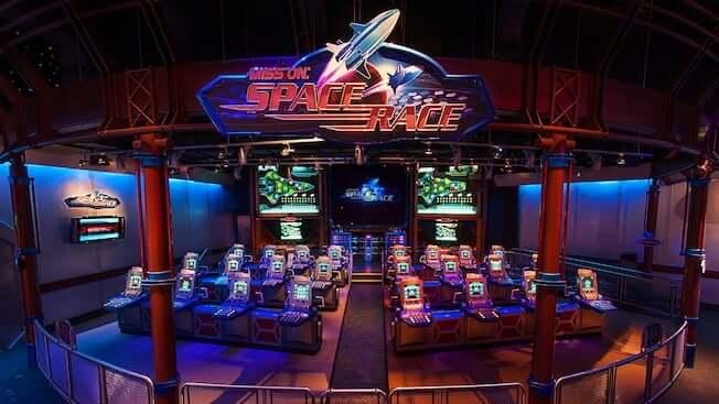 Área Future World do Disney Epcot em Orlando: Mission Space Race