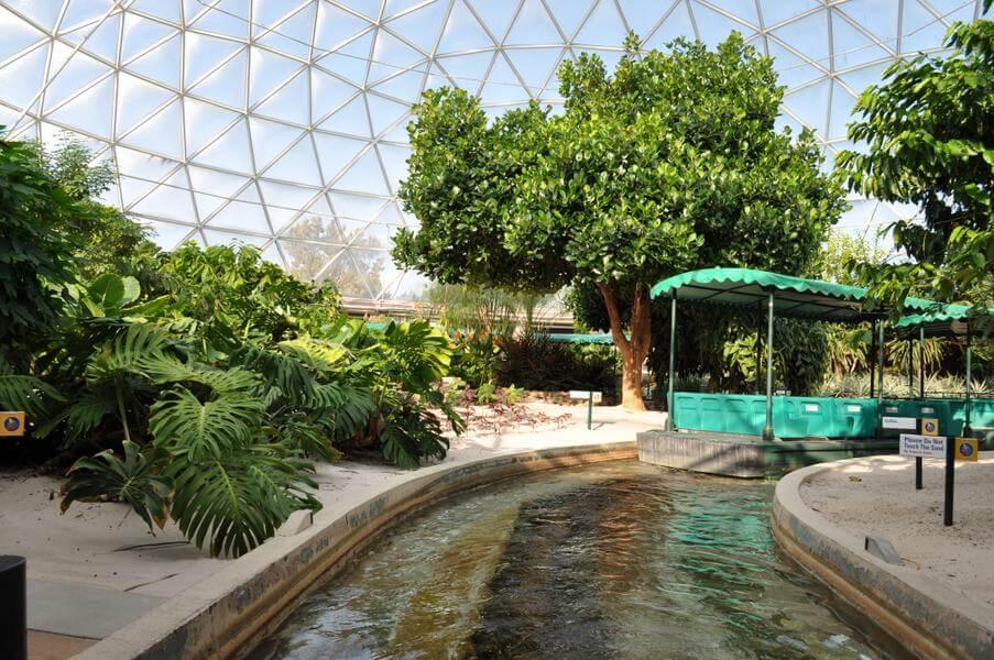 Área Future World do Disney Epcot em Orlando: Living with the Land