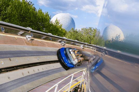 Área Future World do Disney Epcot em Orlando: Test Track