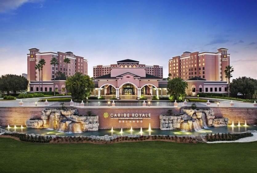 Hotéis bons para crianças em Orlando: hotel Caribe Royale