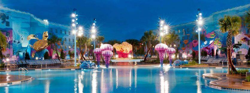 Hotéis mais baratos da Disney em Orlando: hotel Disney's Art of Animation Resort
