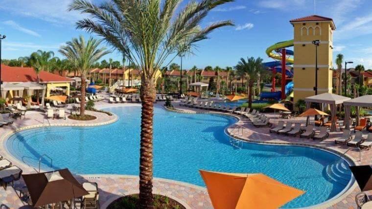 Hotéis bons para família em Orlando: hotel Fantasy World Resort
