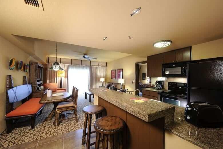 Hotéis com cozinha em Orlando: hotel Kidani Village