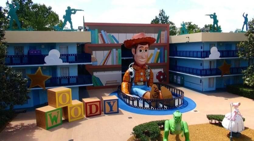 Hotéis mais baratos da Disney em Orlando: hotel Disney's All-Star Movies Resort