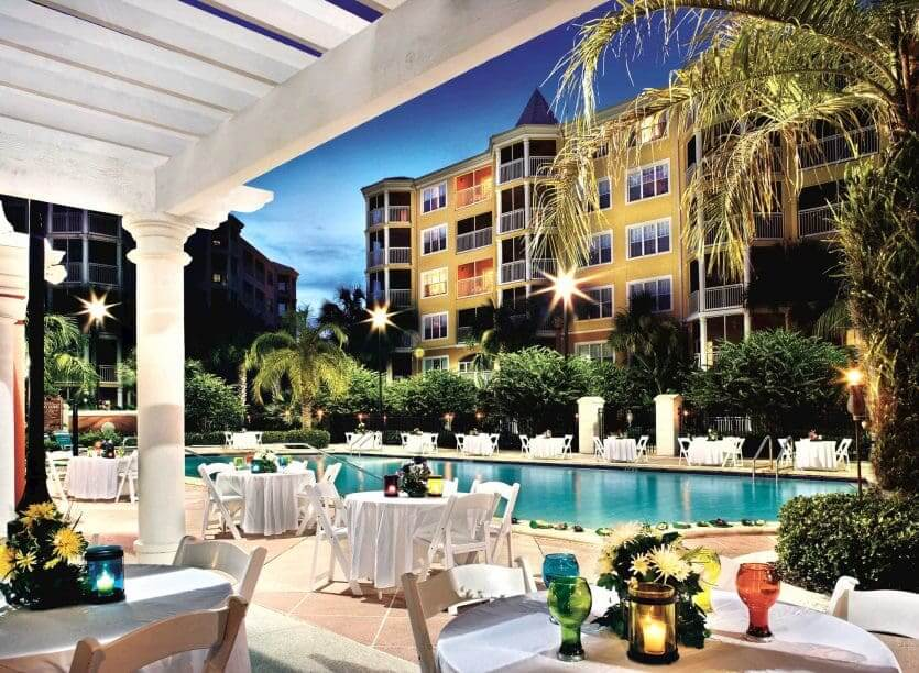 Hotéis próximos aos parquesem Orlando: hotel Hilton Grand Vacations at SeaWorld