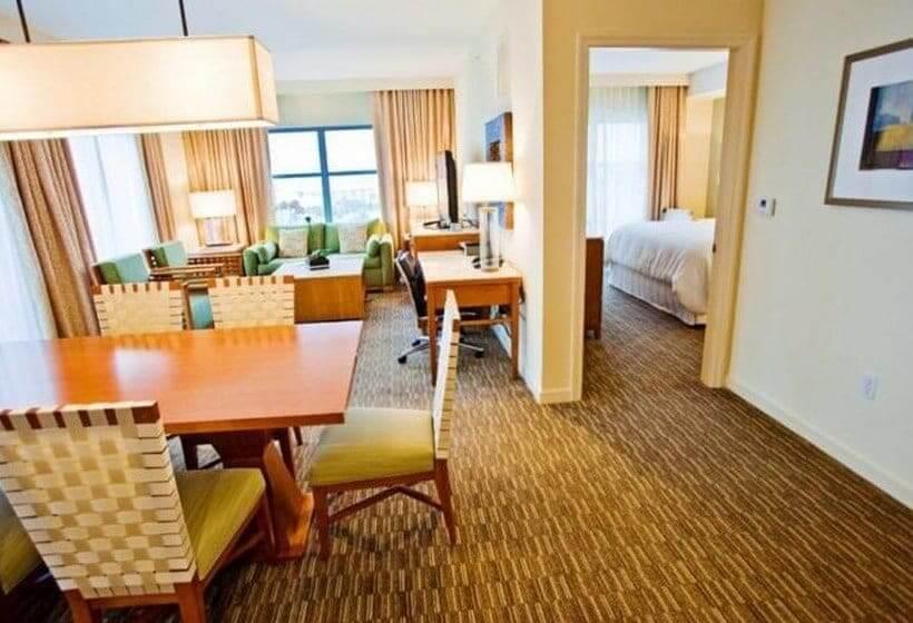 Hotéis sem carpete em Orlando: hotel Las Palmeras By Hilton Grand Vacations