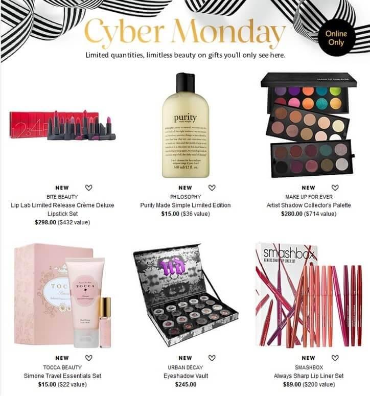 Cyber Monday em Orlando: produtos Sephora