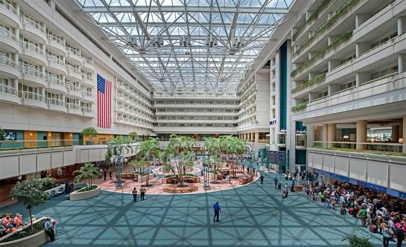 Como ir do aeroporto de Orlando até o centro turístico