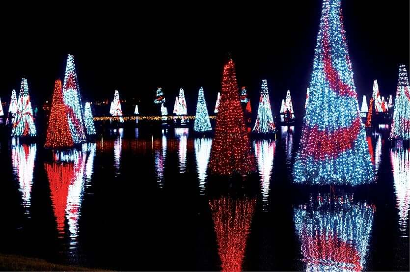 Natal em Downtown Orlando: Eola Wonderland