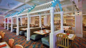 Melhores restaurantes dos hotéis da Disney em Orlando: restaurante Cape May Cafe