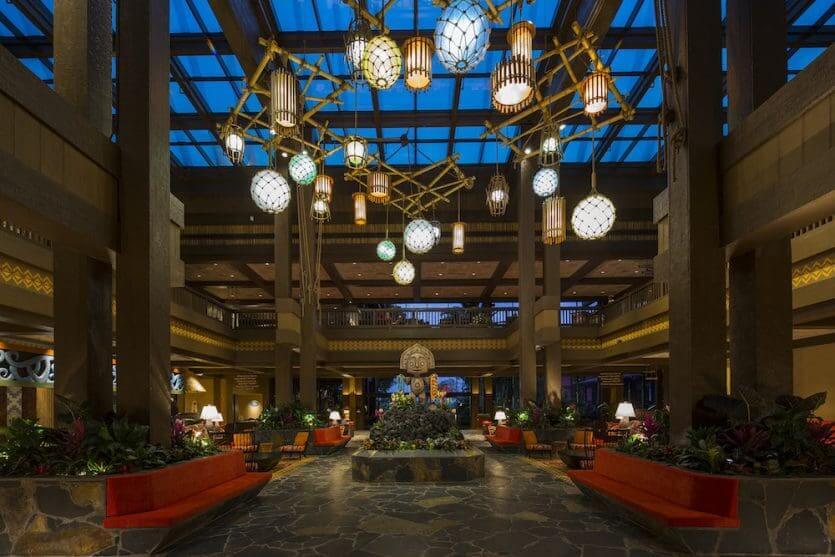 Disney's Polynesian Village Resort: lobby